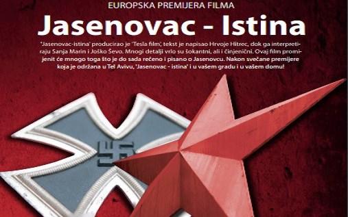 """Prikazivanje filma Jakova Sedlara """"Jasenovac – Istina"""" u našoj Misiji"""