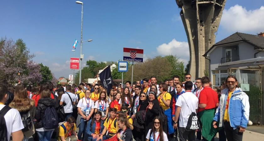 Susret hrvatske katoličke mladeži u Vukovaru