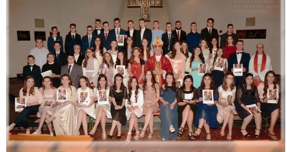 Zahvala biskupa Franje Komarice